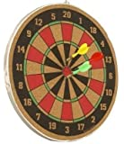 #7: e-YOP 2 in 1 Dart Board Set, Dart game with 5 Dart with Magnetic Board (Size: 16 x 16 inches)
