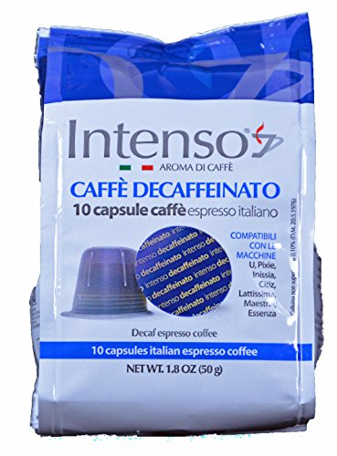 10 Intenso Decaffeinato Kapseln für Nespresso
