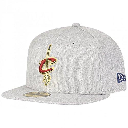 NEW ERA 59Fifty Cap NBA CLEVELAND CAVALIERS HEATHER FITTED 7 3 4 03ac176014eb