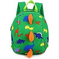 MiniGreen Niedliche Dinosaurier-Tier-Kind-Rucksack Anti Verlorene Tasche Cartoon Kleinkind Baby Harness Rucksack Leine Sicherheit Anti-verloren Rucksack für Jungen Mädchen 2-6 Jahre alt