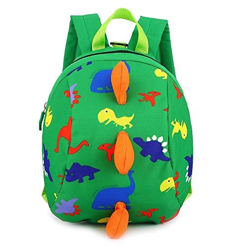 6905e51c28376 MiniGreen Kinderrucksack Anti Verloren Kinder Rucksack für Baby Jungen  Mädchen Kleinkinder 2-6 Jahre Dinosaurier