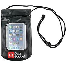 DURAGADGET Funda Impermeable Negra Para Apple iPod Touch ( 6 / 5 / 4 / 3 / 2 / 1 Generación ) - Ideal Para Proteger Su Dispositivo Del Agua Y La Arena