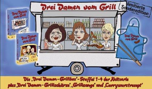 Sonderedition (Staffel 1-4 inkl. Schürze, Grillzange und Currywurstrezept)