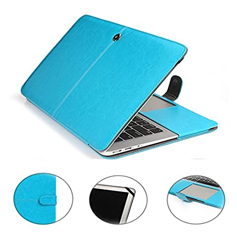 The Apple Macbook protective case,Koala group*High quality PU Leather Book Cover Clip On with Magnetic Snap Closure Case cover (MacBook Air 13