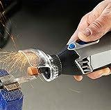 SHINA 2 pcs SHINA A550 Sicherheit, Zubehör für Akku-Winkelschleifer Dremel Rotationswerkzeug cover case