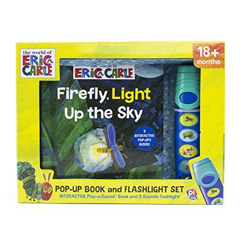 Firefly, Light Up the Sky - Little Flashlight Pop-Up Adventure Book - Play-a-Sound - PI Kids ()