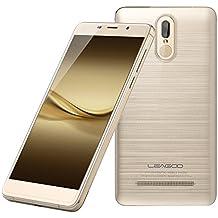 LEAGOO M8 Pro - Doppia Fotocamera Smartphone Libre 4G 5.7''HD (sensore di impronte digitali, 2GB RAM + 16 GB ROM, Android 6.0, batteria 3500mAh), champagne oro