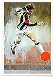 JUNIQE® Poster 20x30cm Fußball Sportler & Sportlerinnen -
