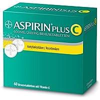 Preisvergleich für Aspirin plus C Brausetabletten-40 Stück (40 ST)