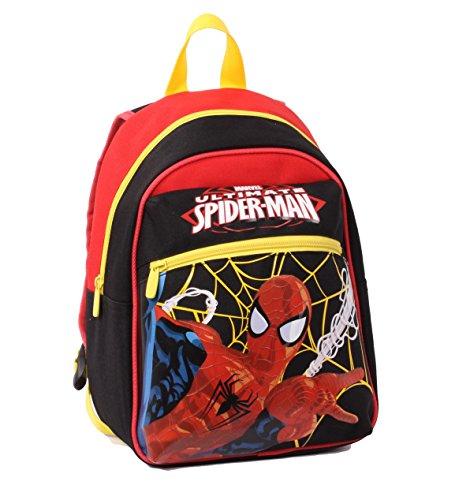 Seven Spider-man 229001606-899 Zaino da Scuola, Small, Poliestere, Multicolore