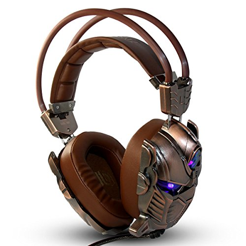 TKS G910 3D Gaming Headset 7.1 Channel+ USB3.0 USB Con Interferenze Magnetiche