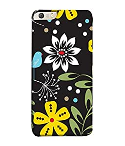 PrintVisa Bird With Flowers 3D Hard Polycarbonate Designer Back Case Cover for Micromax Canvas Knight 2 E471