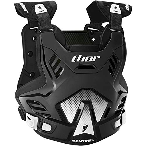 Preisvergleich Produktbild Thor Sentinel GP Offroad Enduro Cross Motocross Protektor Brustpanzer MX SX DH Downhill (M / L,  Schwarz)