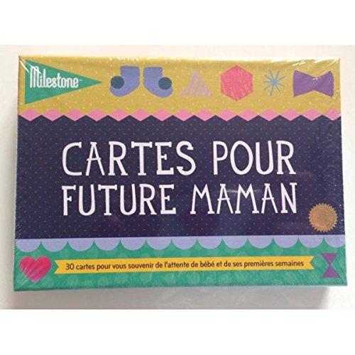 Milestone Cards-Cartes souvenirs Premiers moments de femme enceinte Pregnancy Cards Milestone
