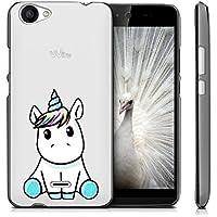 Funda Wiko Rainbow Jam 3G Lindo unicornio Mariposas Suave TPU Silicona Anti-rasguños Protector Trasero Carcasa Para Wiko Rainbow Jam 3G