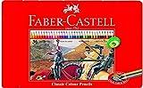 Faber-Castell 115846 - Buntstifte Classic Colour, 36er Metalletui (2er Pack)