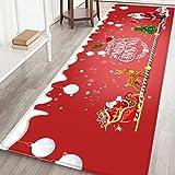 Weihnachten Teppich Flannel Bereich Teppich Teppich Fußmatte Badezimmer Matte Rutschfeste Xmas Floor Decor