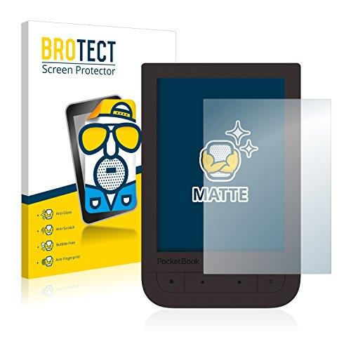 2x BROTECT Matte Displayschutzfolie für PocketBook Touch HD 2 Schutzfolie Matt, Antireflex Folie