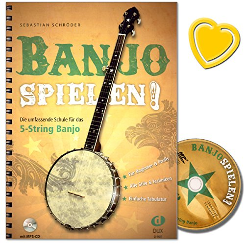 Schrders the best amazon price in savemoney banjo jouer les cole complte pour le pour banjo 5 cordes avec cd et fandeluxe Image collections