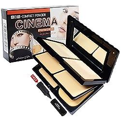 ADS Cinema Compact Powder A8608-02 With Free Adbeni Kajal Rs.125/-