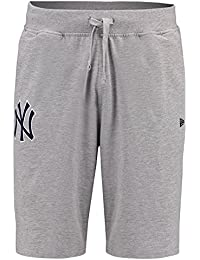 A NEW ERA MLB York Yankees Jersey Short, gris XS