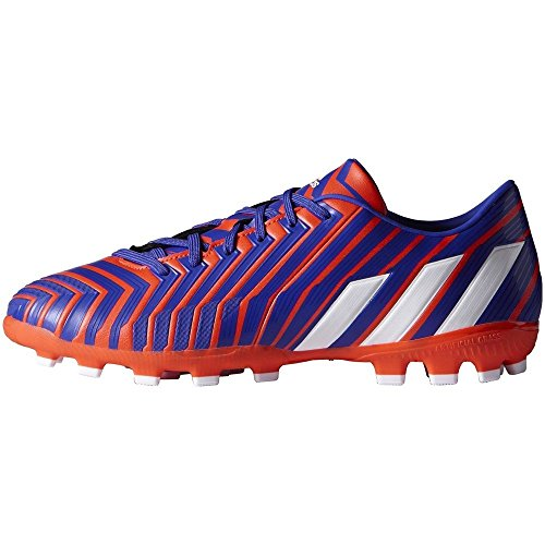 adidas P Absolado Instinct Ag, Chaussures de Football Homme Rouge/Blanc