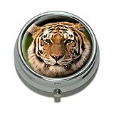 Kunstfell-Teppich Bengalischer Tiger, Pillendose,