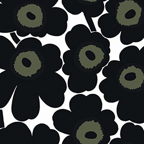 marimekko-wallpaper-13072-floral-black-green-cream