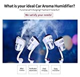 #7: Vmoni Dual USB Aromatherapy Humidifier Air Freshener For Car.