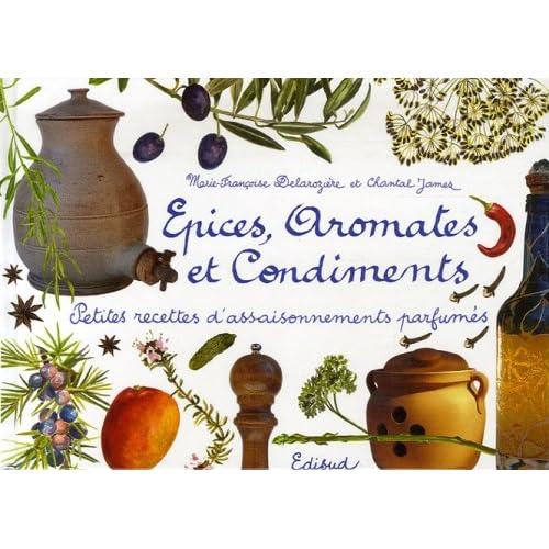 Epices, aromates et condiments : Petites recettes d'assaisonnements parfumés