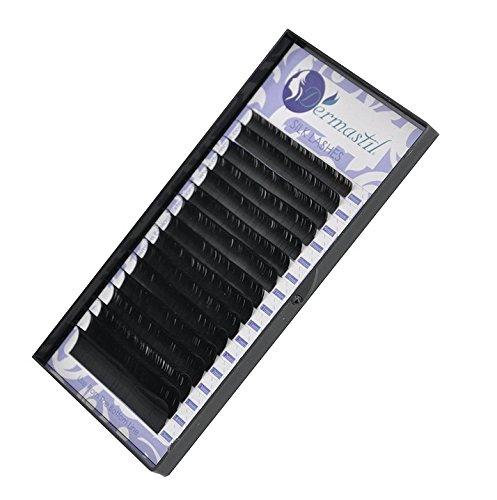 Silk Lashes D Curl spessore 0,20mm lunghezza mix 8mm 15mm