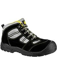 Amblers Steel pour adultes Unisexe FS110 Bottines de sécurité S1 P-Chaussures en cuir à lacets
