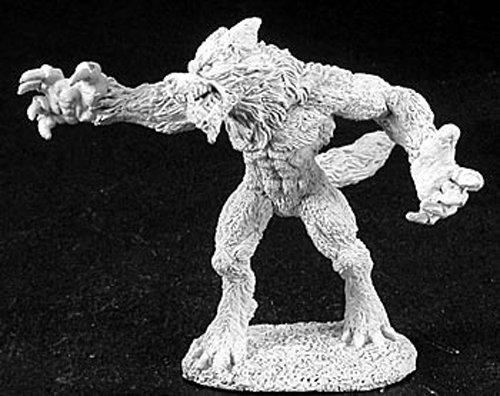 Reaper Miniatures 2872 - Leyendas Oscuras: Hombre Lobo Hombre (sin Pintar) Importado de Alemania