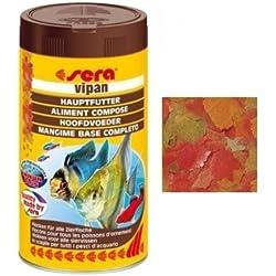 Sera Vipan–Alimento Completo para el sustrato de base de todos los tipos de peces (250ml)