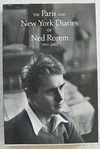 Paris and New York Diaries, 1951-61