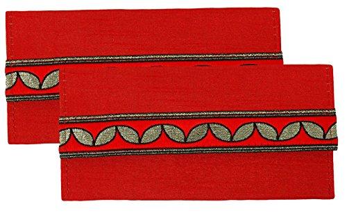 Magnetverschluss Geld Geschenk Geld Umschlag 2 Stück Shagun Umschlag Hochzeit Zubehör Rot