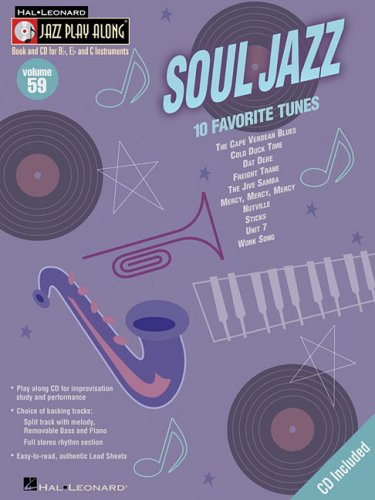 Soul Jazz: Jazz Play-Along [With CD] (Hal Leonard Jazz Play-Along)