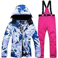 KARTELEI Damen Ski Jacke und Hose Schneeanzug Winddicht & Wasserdicht