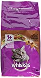 Product Image of Whiskas 1+ Cat Complete Dry with Beef, 2 kg - Pack of 4