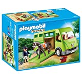 PLAYMOBIL Country Transporte de Caballo con Holstein y...