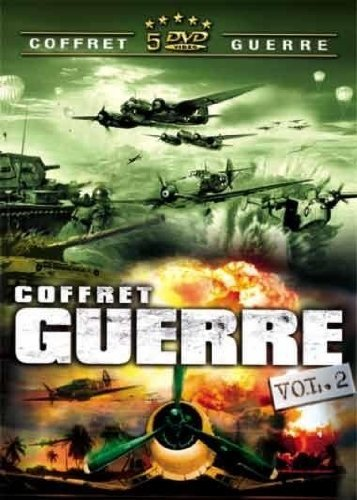 Preisvergleich Produktbild Coffret Guerre N°2 - 4 DVD : Trois des chars d'assaut / Prisonnières de guerre / L'évadé du camp 1 / La conspiration [FR Import]
