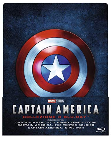 Captain America Trilogia Steelbook (Limited Edition) (3 Blu Ray)