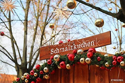 druck-shop24 Wunschmotiv: Schmalzkuchen #74692861 - Bild als Klebe-Folie - 3:2-60 x 40 cm / 40 x 60 cm