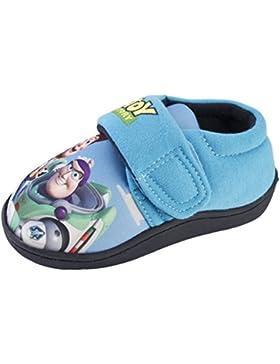 Disney Toy Story Pantoffeln Klettband Stiefel Buzz Lightyear Woody Kinder Jungen Größe UK 6-12