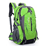 Sound Vision 35L Outdoor Sport Lightweight Daypack Backpack Rucksuck for Mountain Climbing Hiking Camping Travel Casual School Bag Green - Sound Vision - amazon.co.uk
