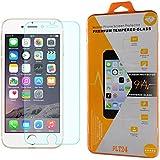PLT24® iPhone 6S / 0,3mm 9H Hartglas / Panzerglas / Displayschutzglas / Tempered Glass / Panzer Glas Folie / Schutzglas / Glasfolie für iPhone 6S (4,7 Zoll) (bewusst kleiner als das Display, da dieses gewölbt ist)
