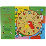 INSTABUYZ Educational Learning Puzzles For Kids | Children Non-Toxic Eco-Friendly Crafted In Wooden Board | Helps In Improving Logical Thinking Skills And Wrist Movement | Improves Child's Colour And Creature Identification Skill | Learn With Fun Creative