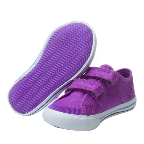 C3652 sneaker bimba LE COQ SPORTIF SAINT MALO scarpa viola strappi shoe kid Viola