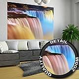 GREAT ART Niagarafälle Wanddekoration - Wandbild Wasserfall Motiv XXL Poster (140 x 100 cm)