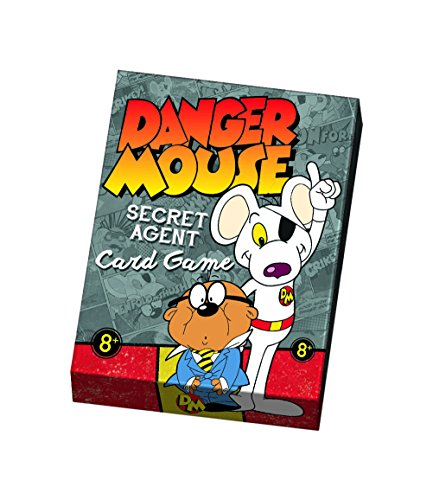 Danger Mouse Secret Agent Card Game (Versand aus UK)